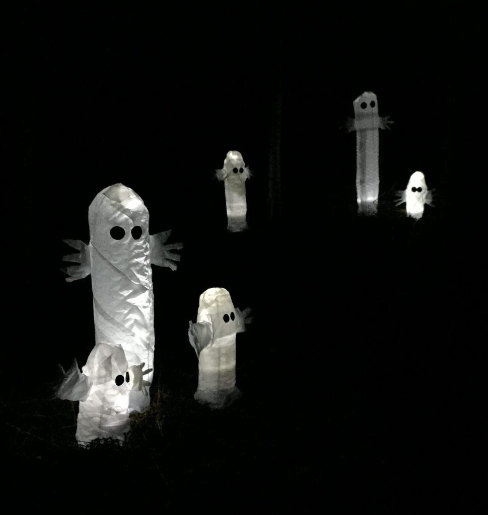 Skriva Spöken Sorg Halloween Allhelgona